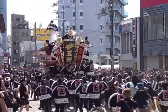 岸和田だんじり 試験曳き 日程
