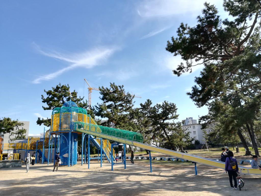 堺市 浜寺公園 遊具