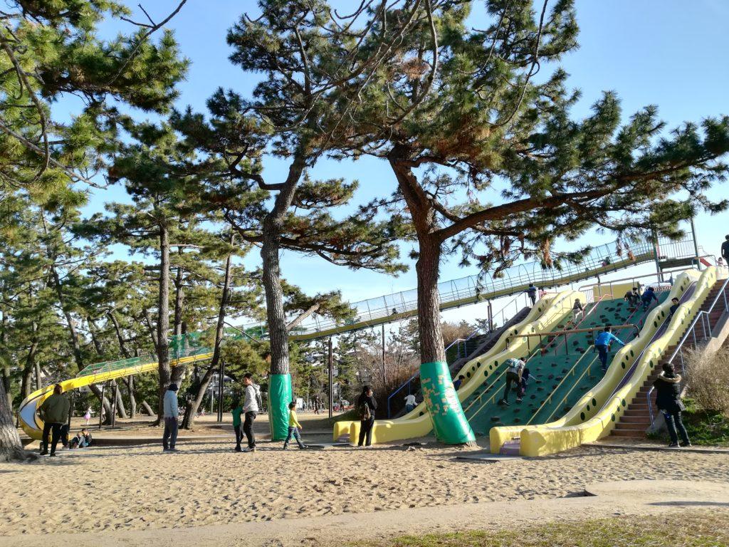 浜寺公園 遊具 堺市