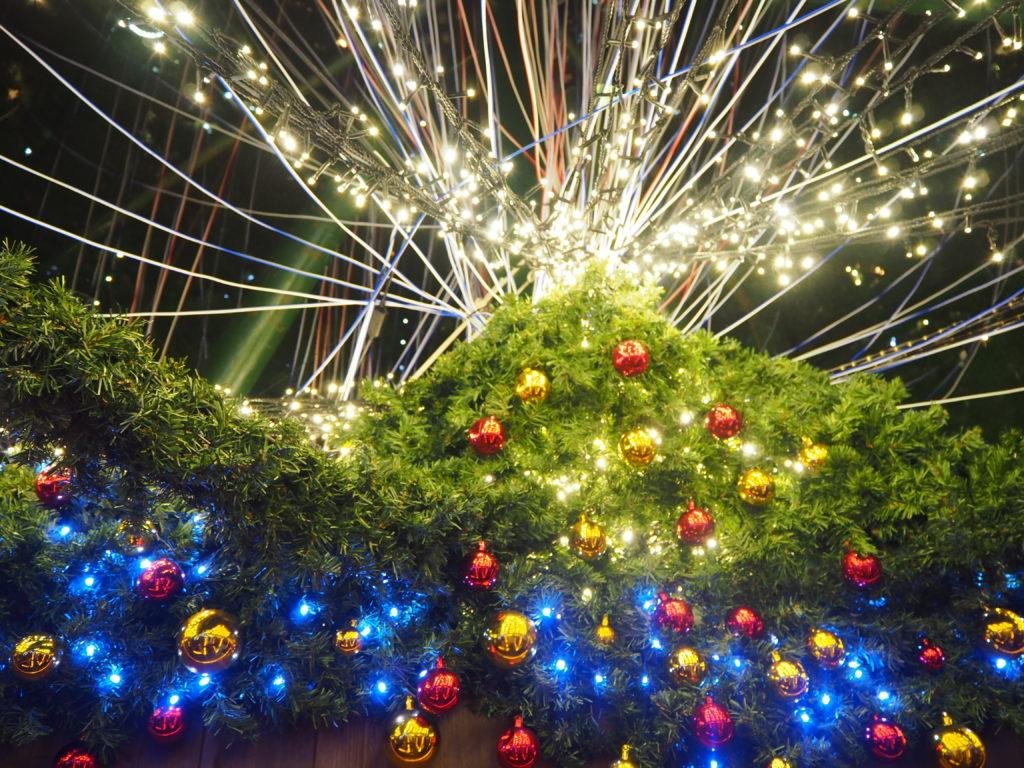ドイツクリスマスマーケット 大阪 クリスマスツリー
