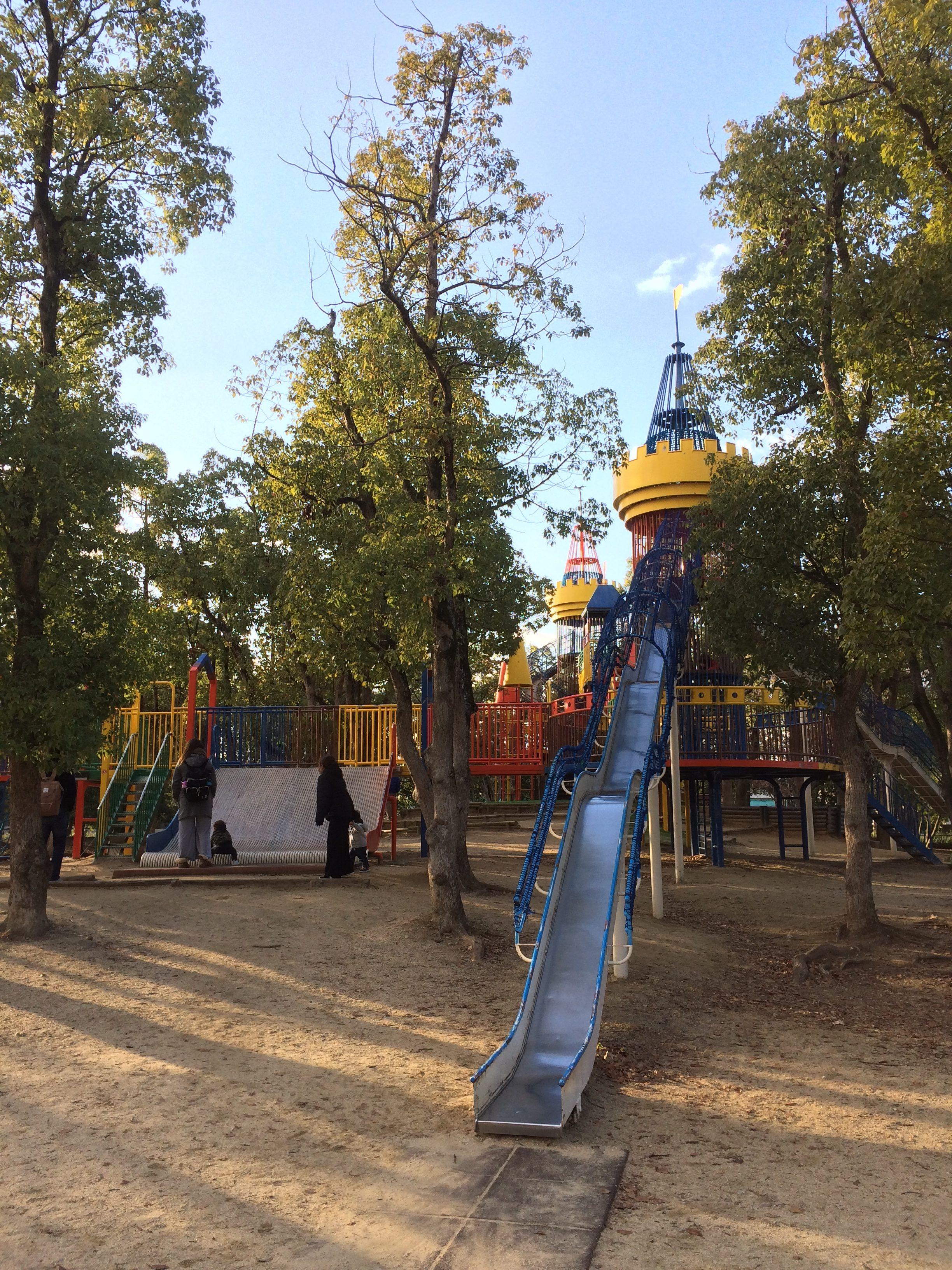 大泉緑地 遊具 滑り台