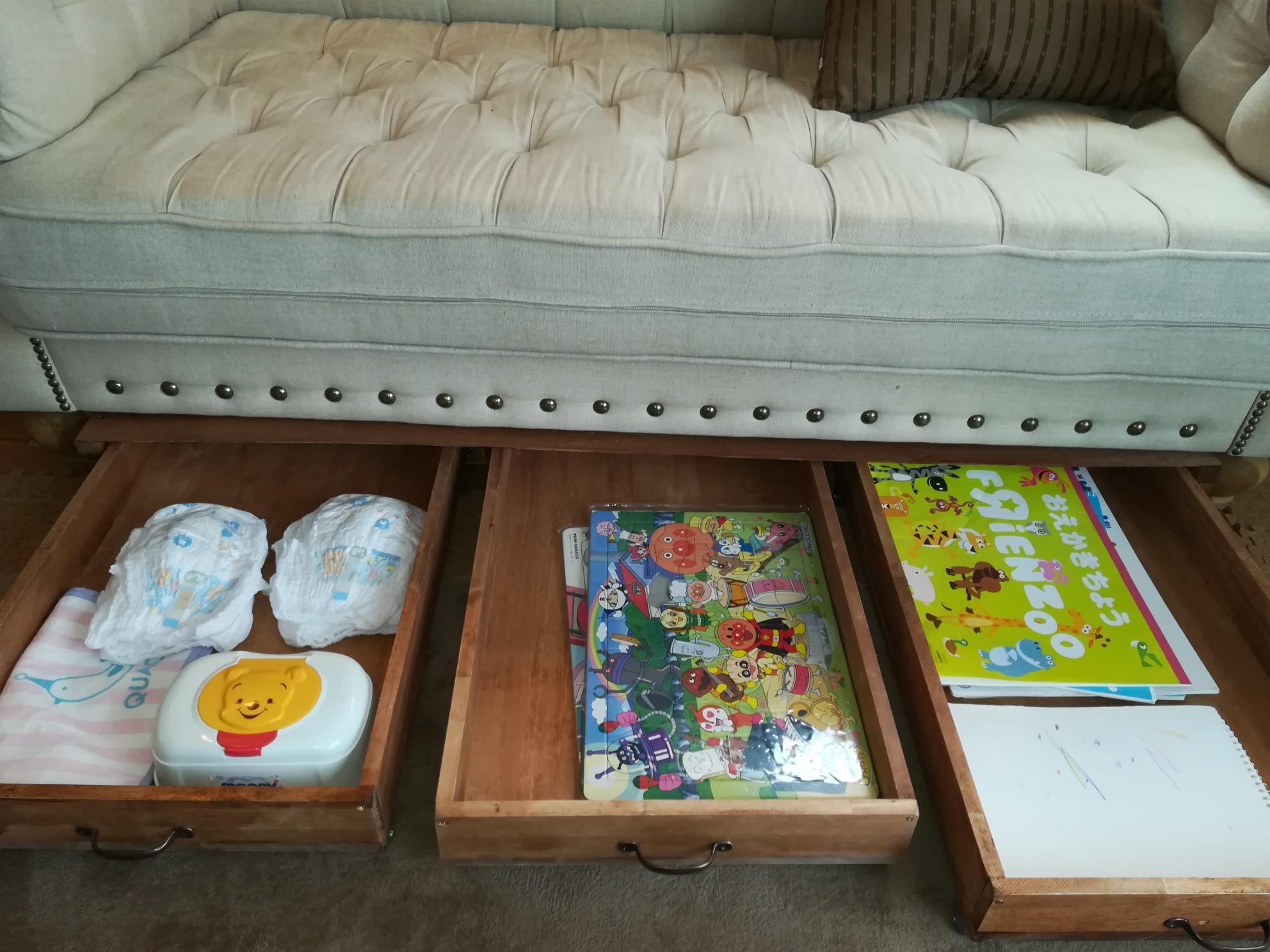 ソファー下収納 DIY 作り方