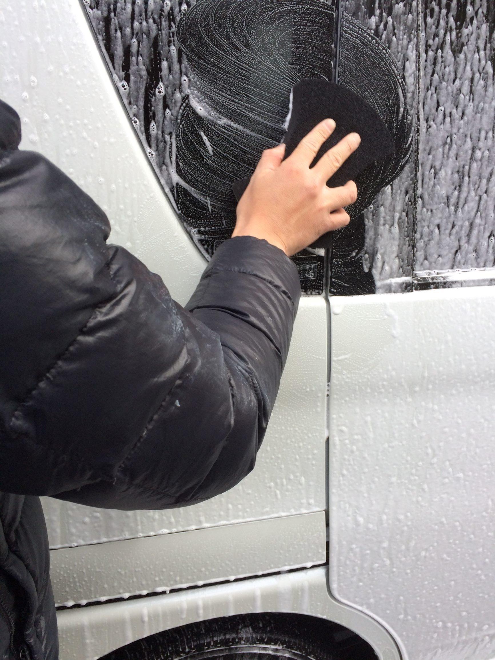 高圧洗浄機 洗車 方法