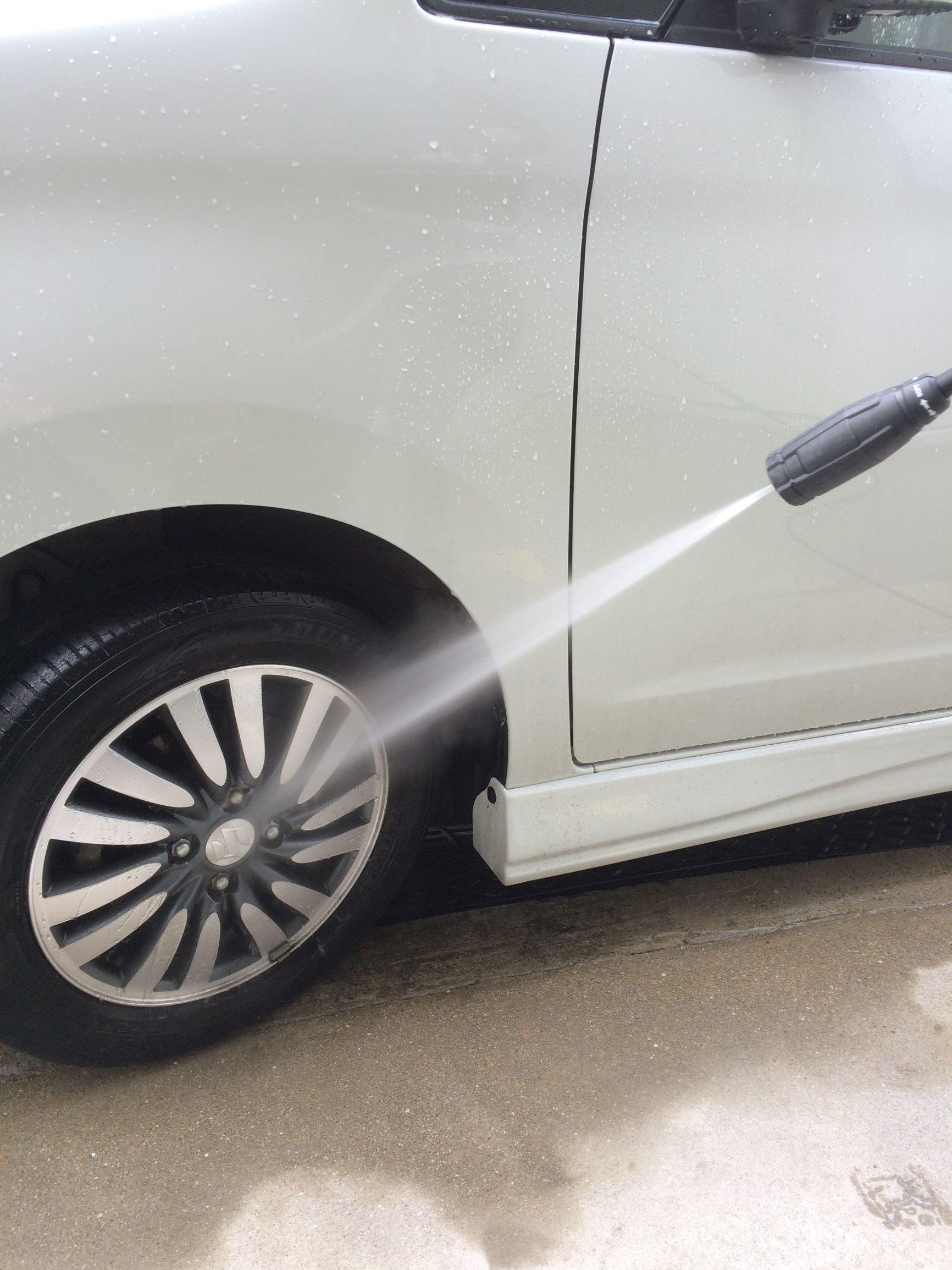 高圧洗浄機 洗車 デメリット
