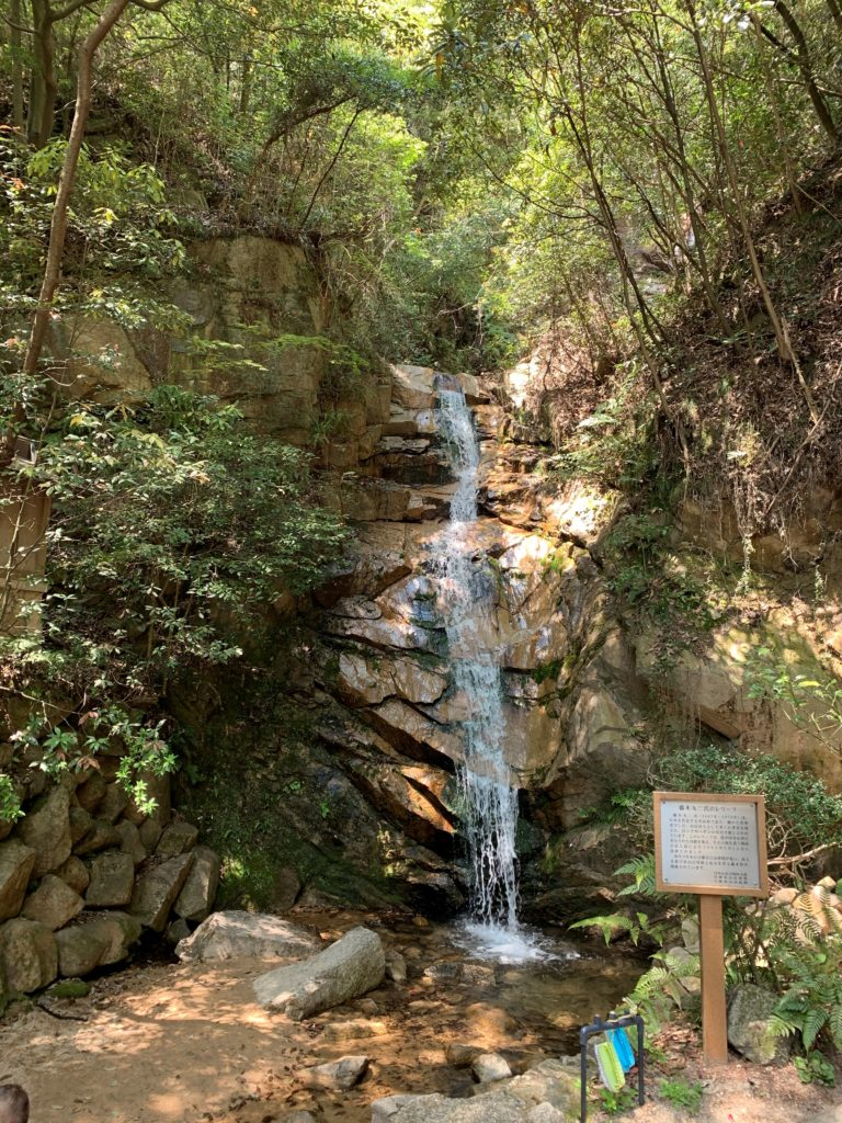 芦屋ロックガーデン ルート 高座の滝